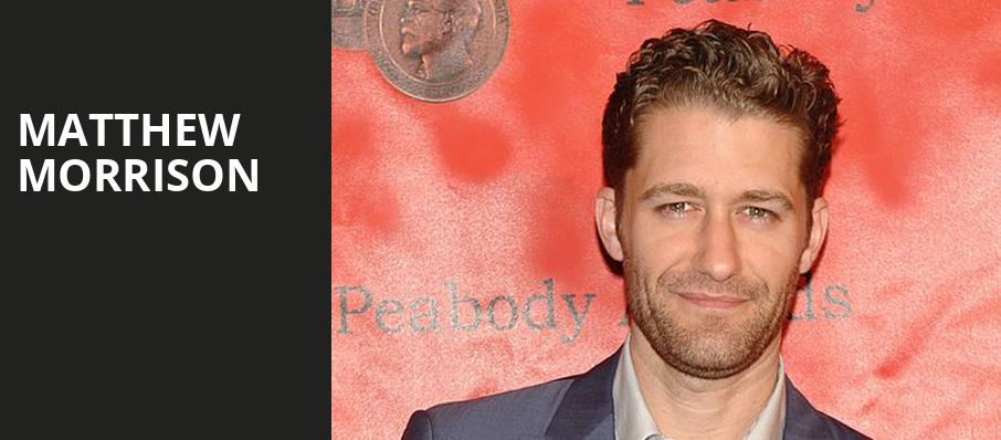 Matthew Morrison, Atlanta Symphony Hall, Atlanta