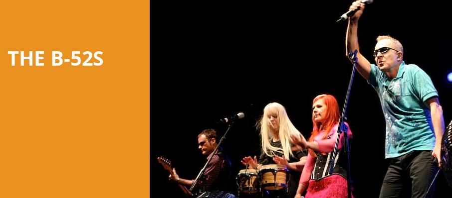 The B 52s, Chastain Park Amphitheatre, Atlanta