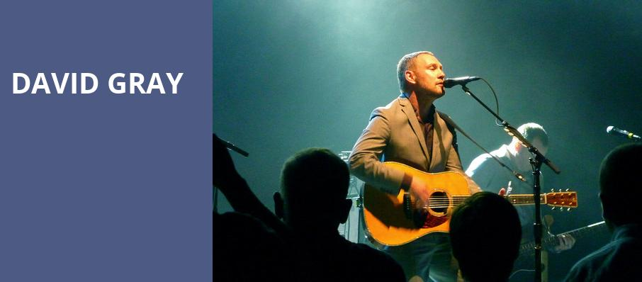 David Gray, Coca Cola Roxy Theatre, Atlanta