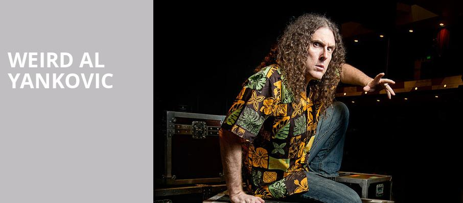 Weird Al Yankovic, Miller Theater Augusta, Atlanta