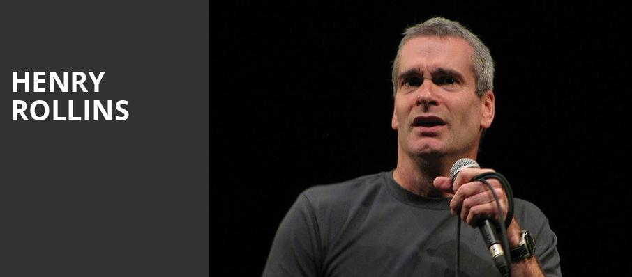 Henry Rollins, Variety Playhouse, Atlanta