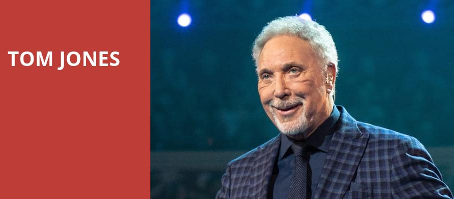 Tom Jones, Atlanta Symphony Hall, Atlanta