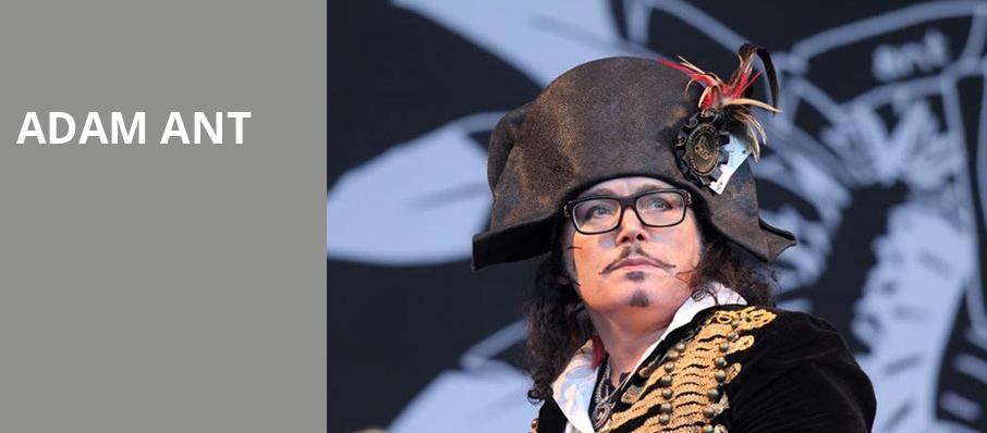 Adam Ant, Atlanta Symphony Hall, Atlanta