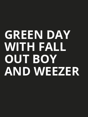 Green Day with Fall Out Boy and Weezer, SunTrust Park, Atlanta