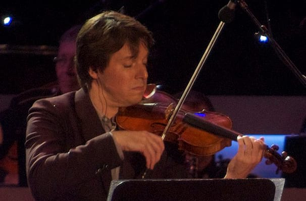 Dates announced for Joshua Bell