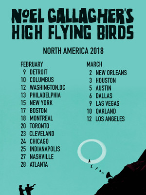 Noel Gallagher's High Flying Birds Poster