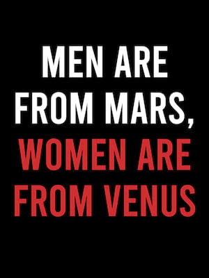 Men Are From Mars Women Are From Venus, Infinite Energy Theater, Atlanta