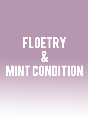 Floetry & Mint Condition Poster
