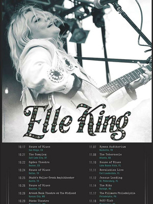 Elle King, Tabernacle, Atlanta